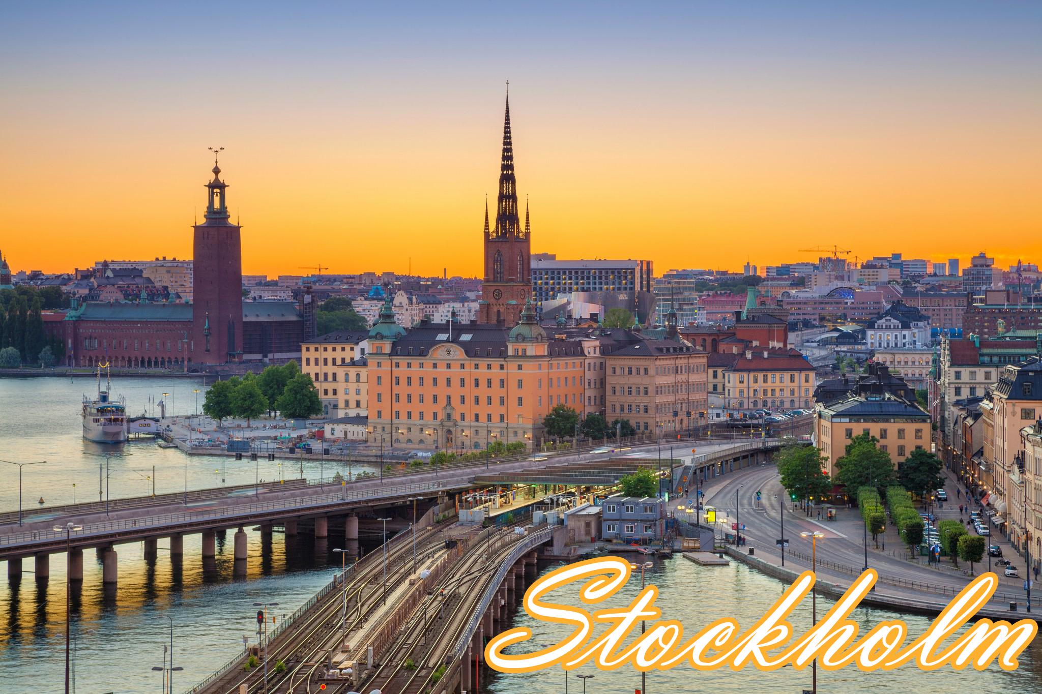 İskandinavya Turu (Stockholm Başlar)